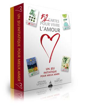 Coffret 52 cartes pour vivre l'amour par Arouna Lipschitz