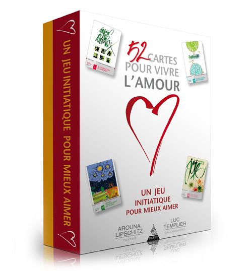 Coffret 52 cartes pour vivre l'amour - Arouna Lipschitz